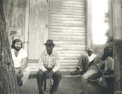 Travis Whitfield with The Porch Crew, 1973